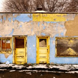 Old Building, Grand Coulee, Washington, 2013