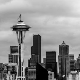 The Space Needle, Seattle, Washington, 2014