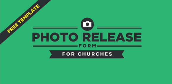 Free Photo Release Form Template For Churches - photography release form