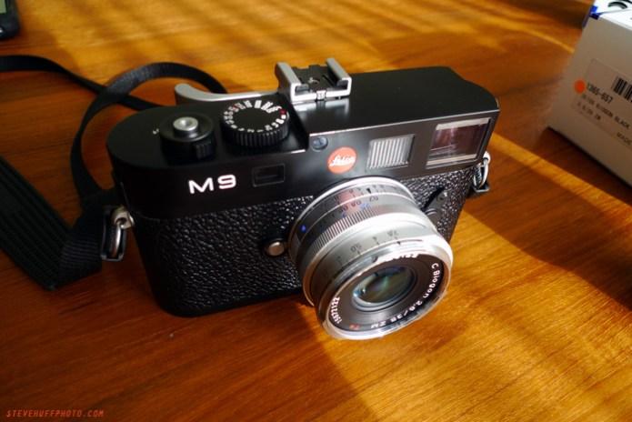 Zeiss Zm 35 Biogon C on Leica M9
