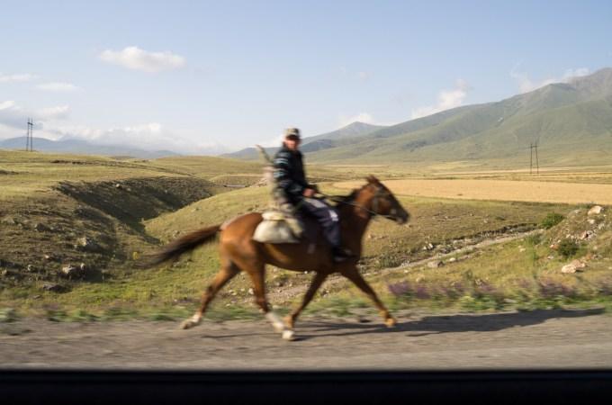 2. Blurred Rider