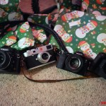 A look under my Christmas Tree! Nikon Df, Leica M, Sony A7r and the Olympus E-M1!