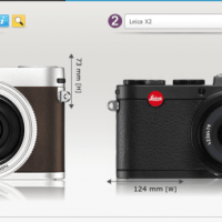 The Leica X Size? See it next to the X2, Vario, RX1, X100s and Leica M4