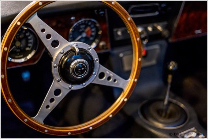 07. Austin Healey Cockpit