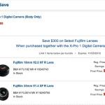 Fuji X-Pro 1 Bundle Deals! Save up to $300