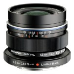Special Limited Edition Black Olympus 12mm F/2 In Stock at B&H Photo