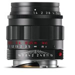 New black chrome Leica 35 Summicron and 1959 50 Summilux ASPH!