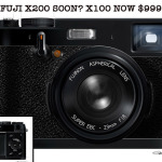 Fuji X200 Here Soon? My guess is yes...The X100 is now $999