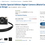 Hasselblad Stellar Deal. Only a few black/carbon remain!