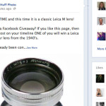 Leica Lens Give away! Enter to win a classic 50 Summitar f/2 on my facebook page. Entry is easy.