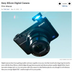 """Sony RX100 makes Time Magazines """"50 Best Inventions of 2012""""!"""