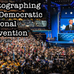 Left Brain vs Right Brain: Photographing the Democratic National Convention by Peter Sills