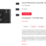 """The New Leica M Typ 246..or """"The New Monochrom"""""""