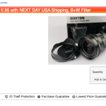 Voigtlander 10.5 f/0.95 Micro 4/3 lens is now shipping!