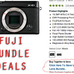 A Day of Deals: Fuji X-E1 and X-Pro 1 Body and Lens Discounts