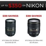 FYI: Nikon lens deals are here and active - Up to $350 off select glass...