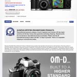 Crazy Olympus E-M10 Deal - $349!