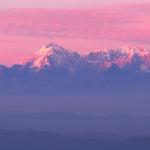 QUICK SHOT : Himalayas from Muktershwar, India By Subroto Mukerji