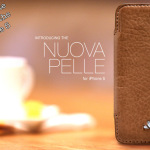 My favorite case for the iPhone 5, the Vaja Nuova Pelle