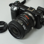My NEX-6 with Lens Turbo Converter by Jason Wang