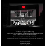 Leica Store Los Angeles Grand Opening this Month!