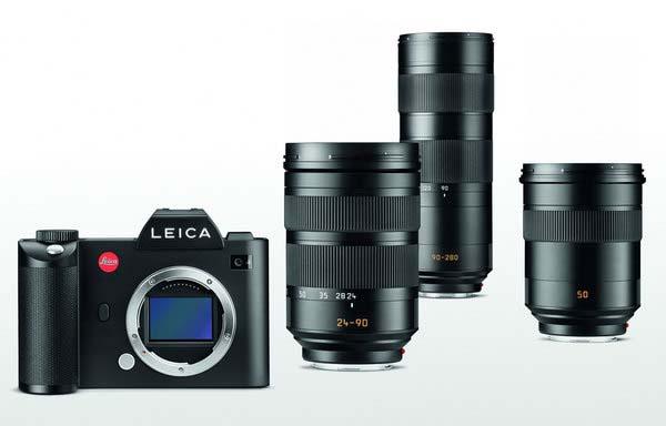 Leica-SL-et-objectifs