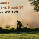 Grassfire with the Nikon V1 by Sue Wotton