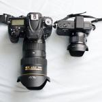 David and Goliath - The Nikon V1 vs. the Nikon D600 - Wide Angle by Steven Norquist
