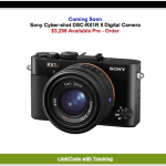 Sony RX1R II NOW available for Pre-Order! Ships Nov 25th!