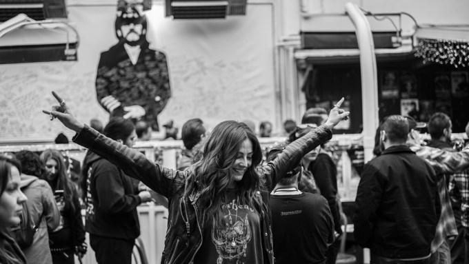 Lemmy Kilmister Motorhead Memorial The Rainbow -22-2