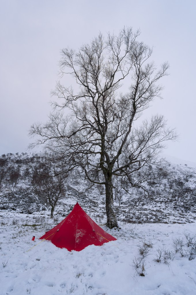 Camp at Creag Meagaidh, Sony 16-35mm