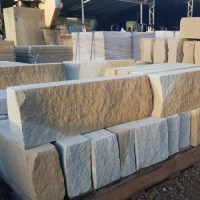 Sandstone Garden Edging Blocks Lm
