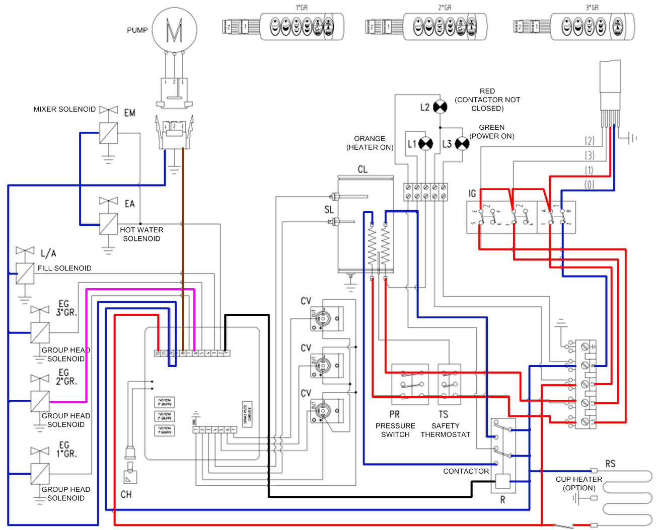 electric schematic wiring diagram
