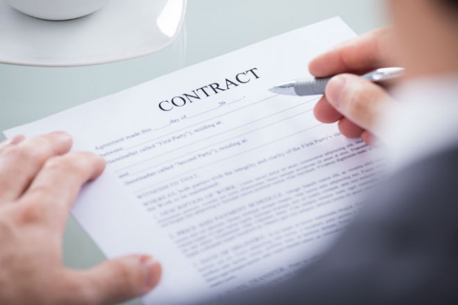 Employer in breach of contract for dismissing an employee for