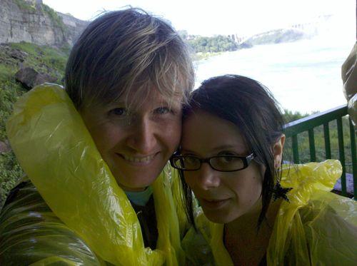 Steve and Rachelle at Niagara Falls