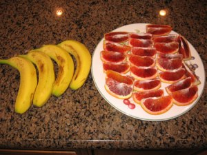 Raw food diet day 12 dinner