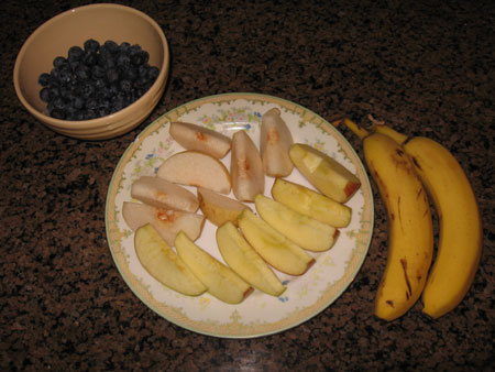 Raw food diet day 23 dinner
