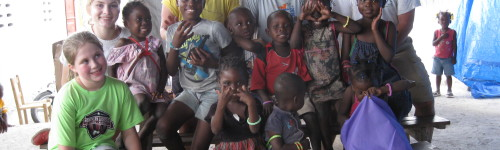 Here are some of the kids we will get to meet. This is a photo from Chrissy Petersen during her last trip there.
