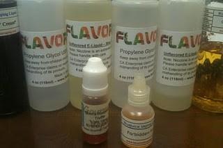 e-cigarette guide e-liquid nicotine base image