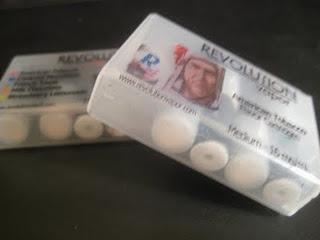 Revolution Vapor e-cigarette starter kit review cartridges image