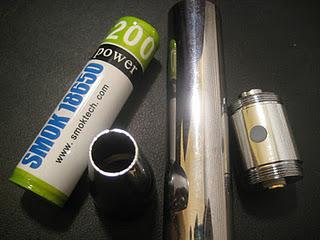 18650 E-Power Review diassembled image