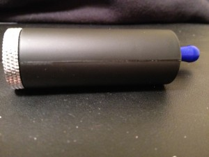MadVapes Gripper e-cigarette mod review side view