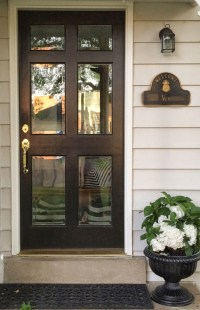 Front Door Glass: 17 Home Improvement Ideas For You ...