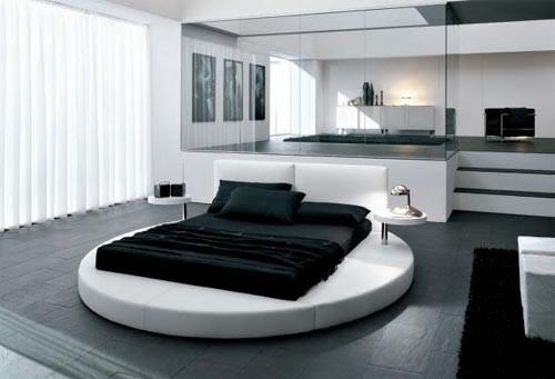 14 inspirations of grey hardwood floors - Interior Design Inspirations - bedroom floor ideas