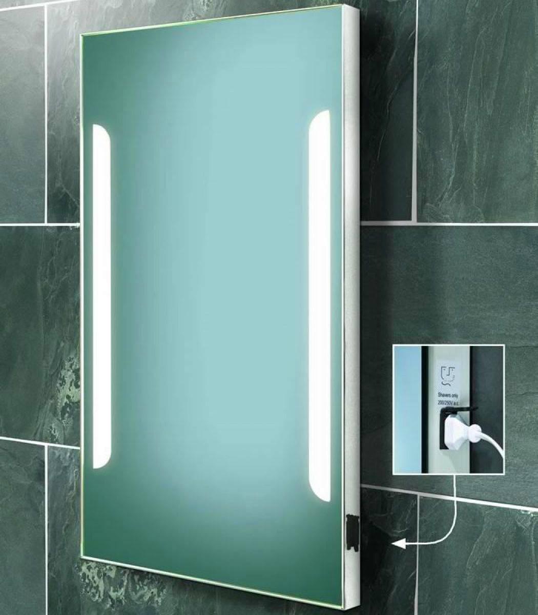 Extraordinary 50 Bathroom Led Light With Shaver Point Inspiration Of Led Bathroom Mirror