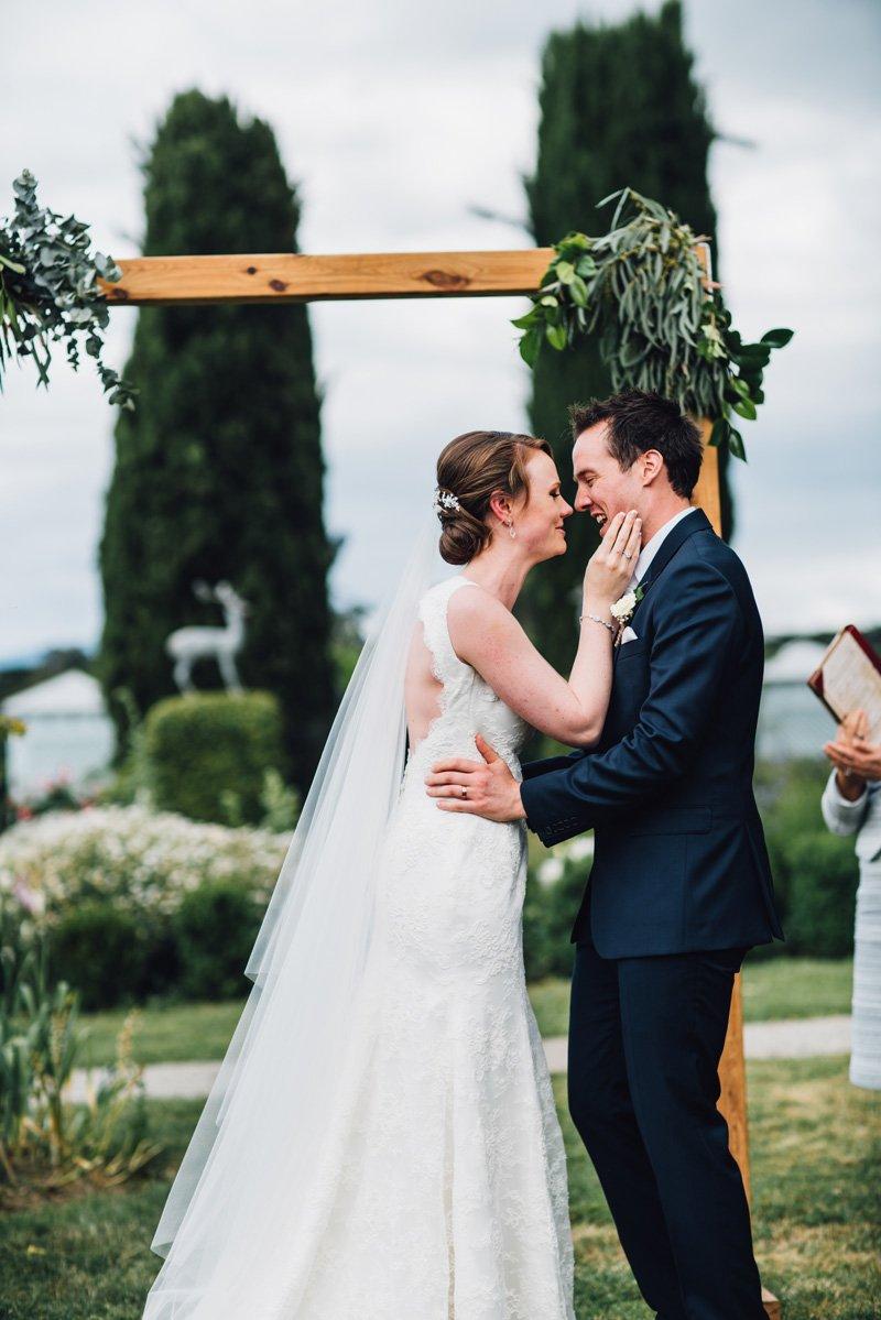 COOMBE YARRA VALLEY MELBA ESTATE WEDDING ceremony