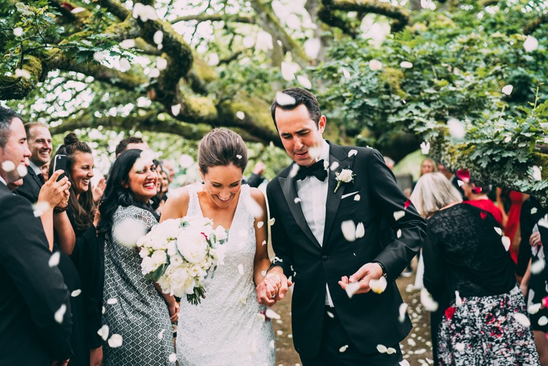 oak tree ceremony at coombe yarra valley