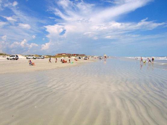 St. Augustine Beach scene
