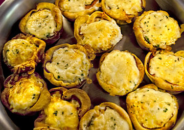 mini quiche egg cups