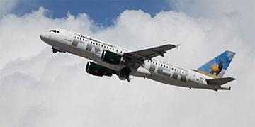 Frontier Airlines jet